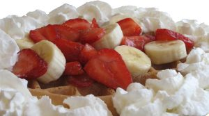 Brigs Strawberry-Banana Waffle